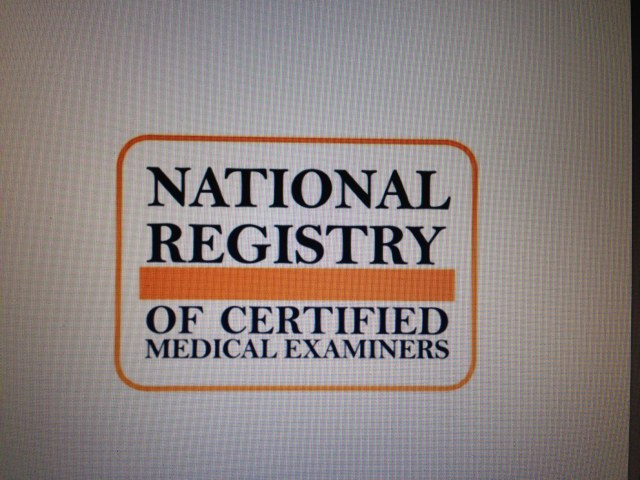 Nrcme And The Certified Medical Examiner  Dot FmcsaFaaUscgRules