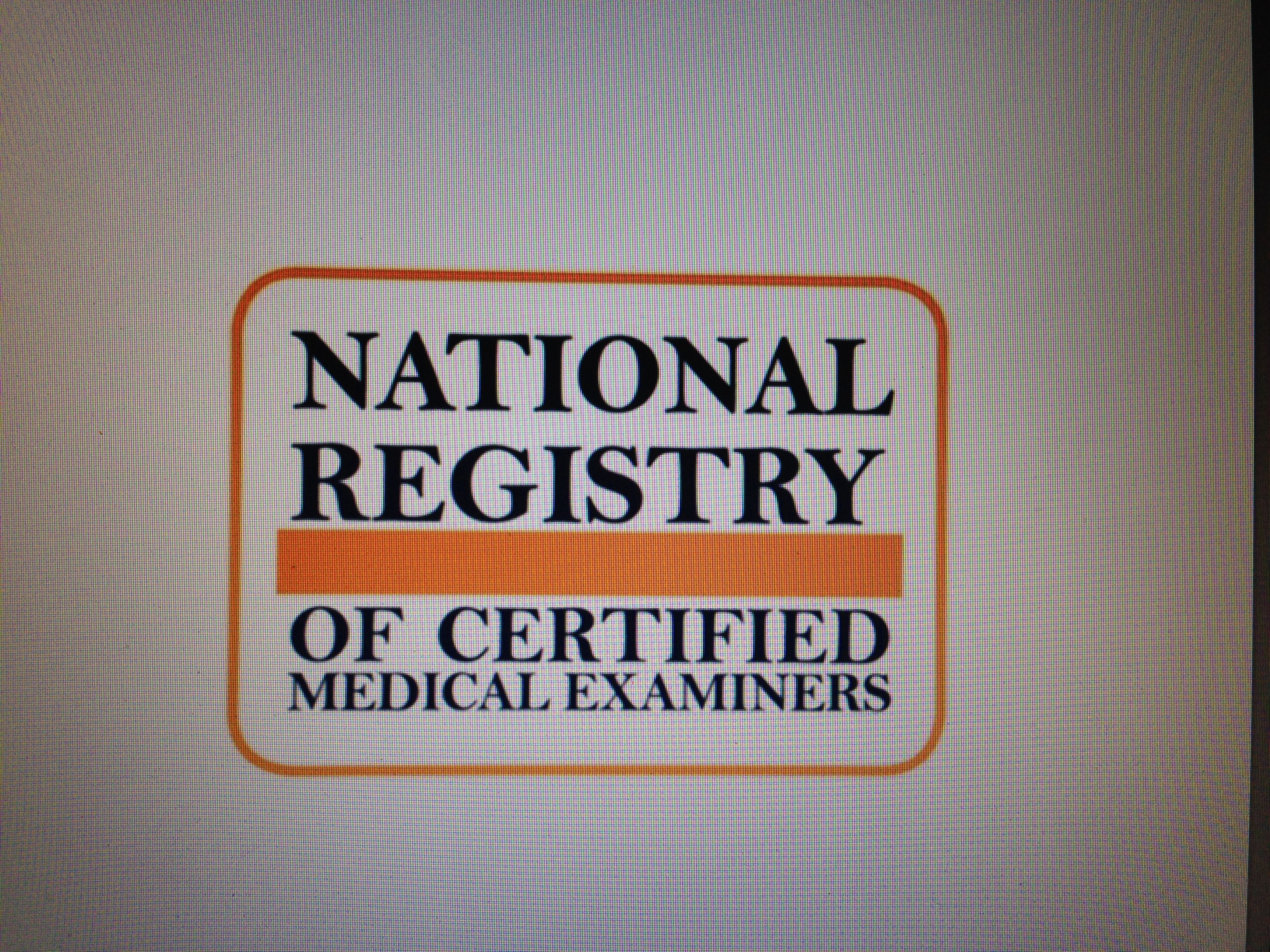 54,055 Registered Medical Examiners in 2017.  Source:  NRCME DATA Dashboard.